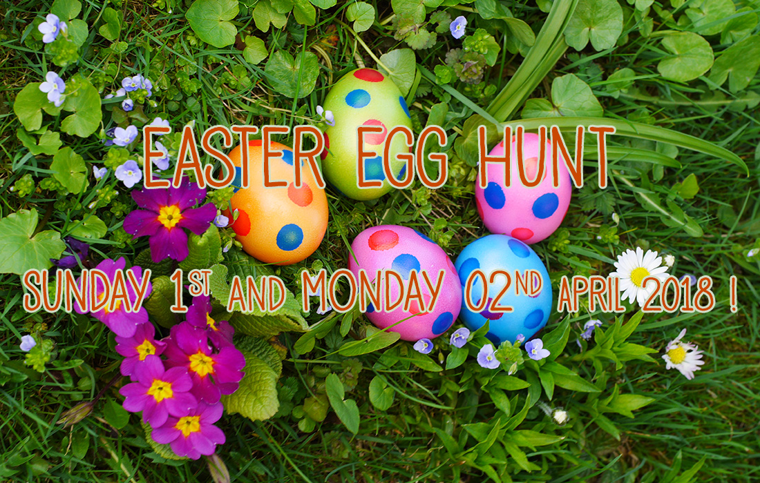 Easter Egg Hunt on Sunday 1st and Monday 2nd April 2018 ...